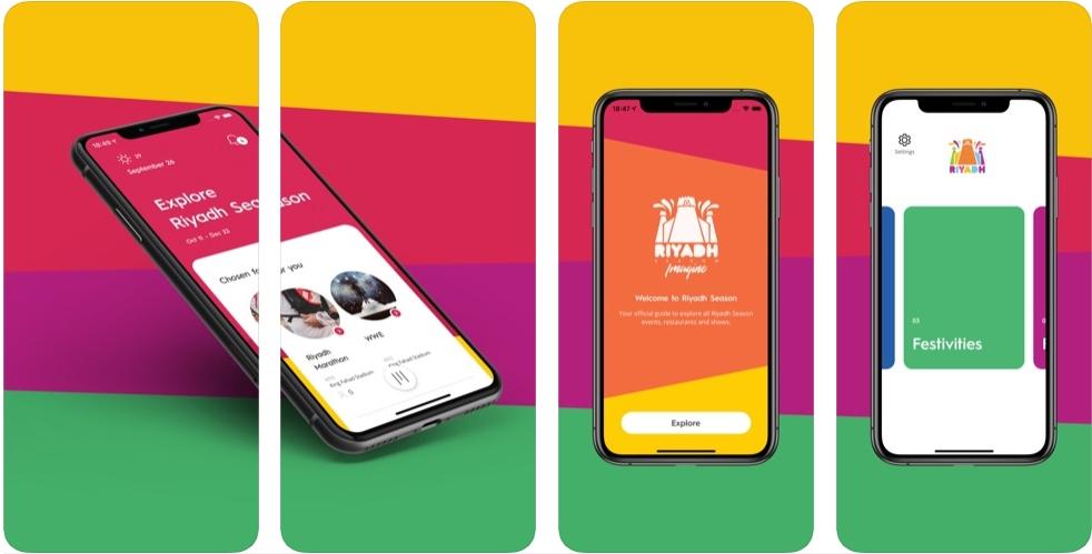 2019 10 16 06 58 29 Riyadh Season on the App Store - تطبيق Riyadh Season لمتابعة جميع فعاليات موسم الرياض