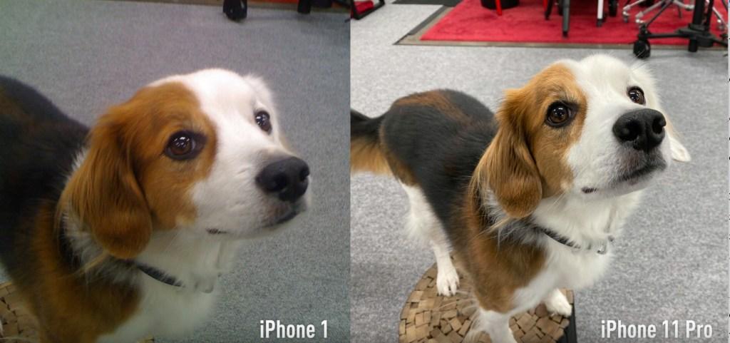 الأصلي iPhone وiPhone 11 Pro مقارنة بين - فيديو.. iPhone الأصلي ضد iPhone 11 Pro: مقارنة توضح مدى التغيرات على مدار 12 عام