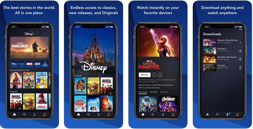 2019 11 13 17 11 37 Window - تطبيق +Disney أصبح متوفر للتنزيل على أجهزة آيفون وآيباد وتلفزيونات آبل تمهيدا لوصول الخدمة