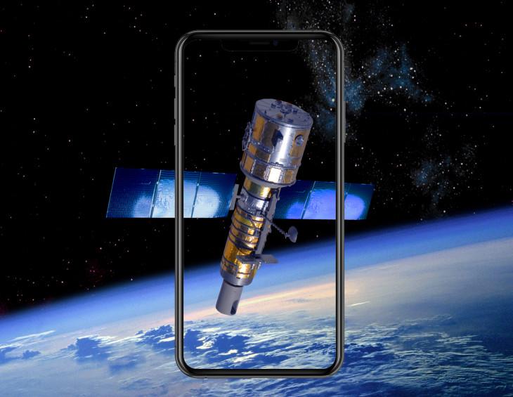 iphone satellite - هل تنوي آبل فعلا إطلاق مجموعة من الأقمار الصناعية مخصصة لمستخدمي آيفون ؟ وما الهدف منها ؟