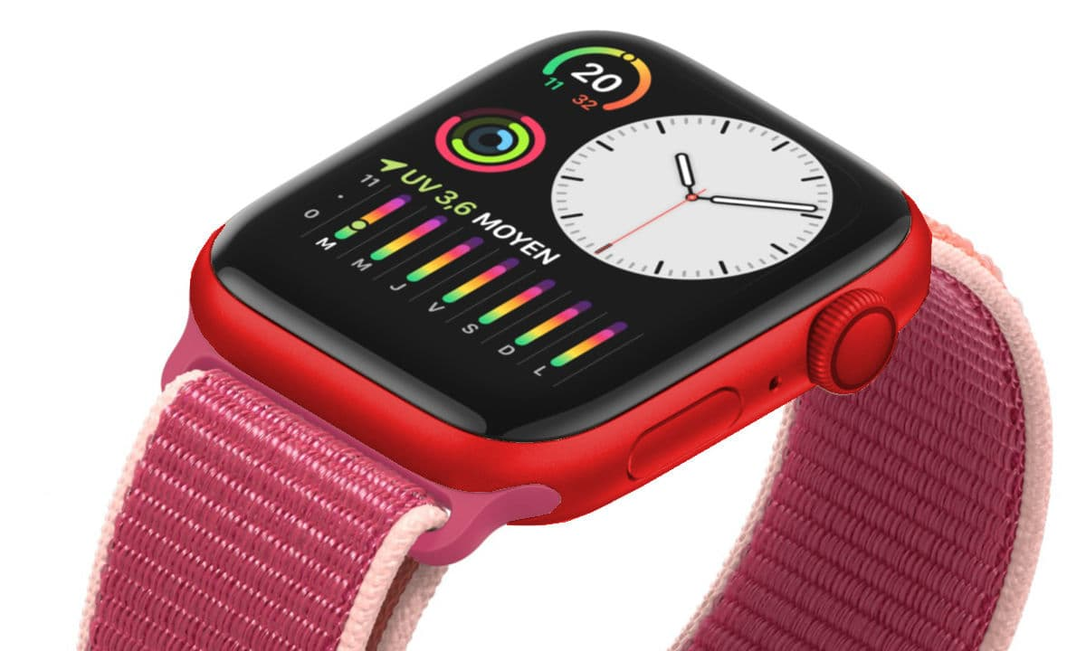 RED watch - (PRODUCT (RED : الجيل الخامس من ساعة آبل ستتوفر أخيرا باللون الأحمر