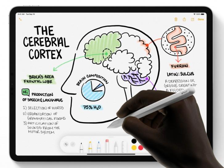 gsmarena 000 1 - آبل تسجل براءة اختراع لقلم Apple Pencil المستقبلي مُزوّد بأداوت تحكم إضافية حساسة للمس