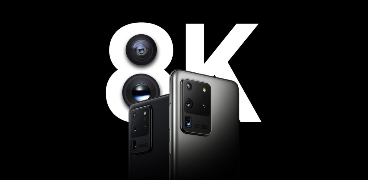 8K video recording for Galaxy S20 - تعرّف على حجم الدقيقة الواحدة من فيديو 8K على جوالات Galaxy S20