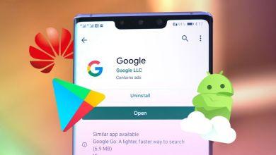 صورة جوجل: احذروا من تثبيت تطبيقات جوجل على أجهزة هواوي