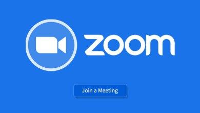 صورة تطبيق Zoom لعقد الاجتماعات عن طريق مكالمات الفيديو