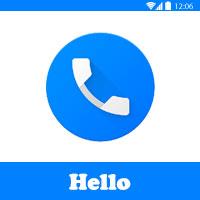 تطبيق Hello - موقع لمعرفة رقم المتصل من اي دولة
