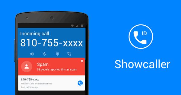 تطبيق Show Caller  - موقع لمعرفة رقم المتصل من اي دولة