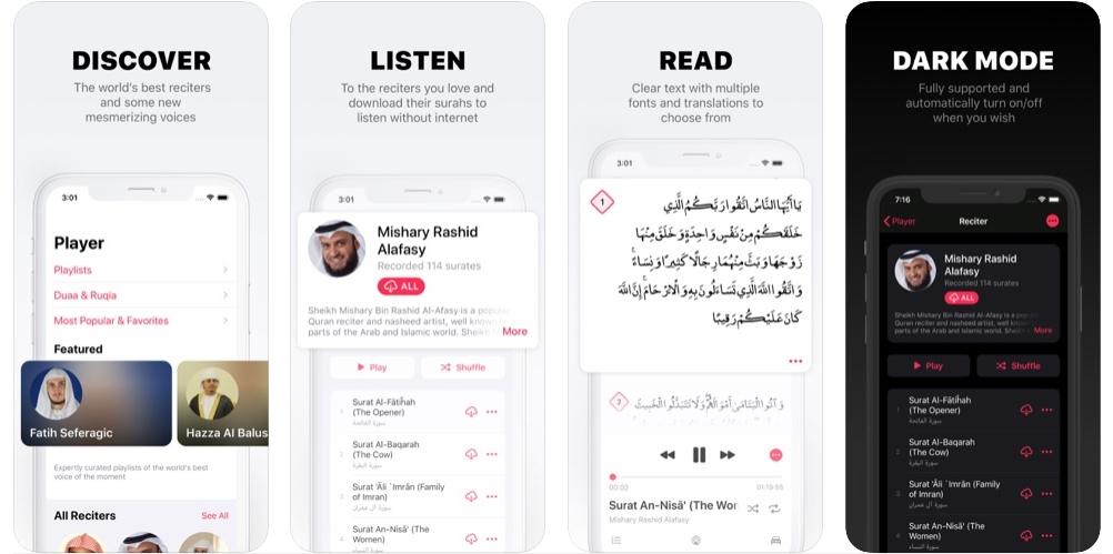 2020 05 05 00 19 28 Window - تطبيق Quran Pro هو أفضل تطبيق للاستماع إلى القرآن الكريم بصوت أفضل القراء
