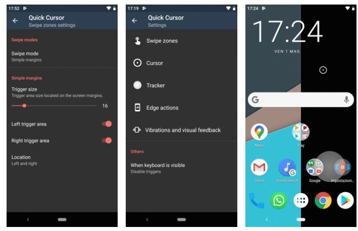 2020 05 07 00 18 54 إذا كان هاتفك ذو شاشة كبيرة فتطبيق Quick Cursor يُهمك عالم التقنية - تطبيق Quick Cursor يساعدك في استخدام جوال الأندرويد بيد واحدة