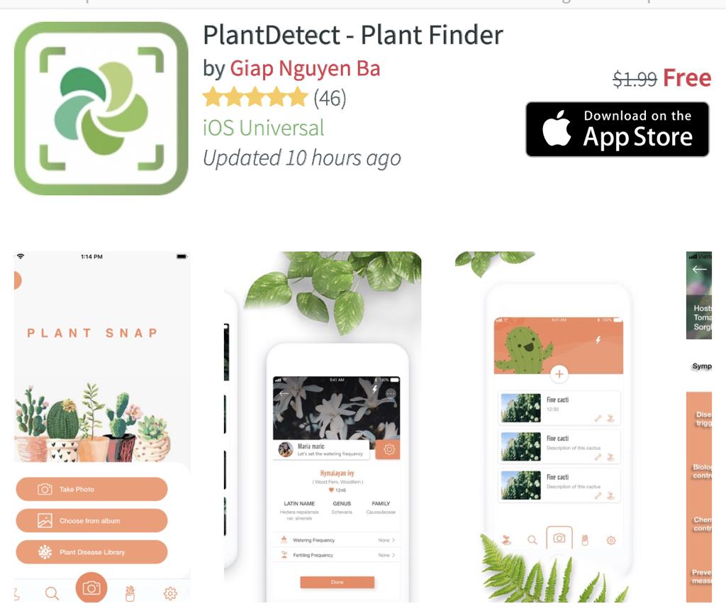 EYaBdLXXQAAUbPr - تطبيق PlantDetect للتعرف على النباتات بواسطة كاميرا الجوال
