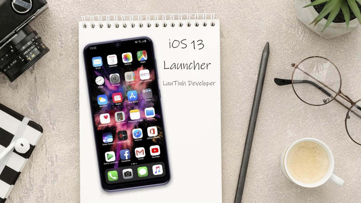 maxresdefault 1 - Launcher iOS 13 - أفضل تطبيق لتحويل واجهة الأندرويد إلى شكل الآيفون
