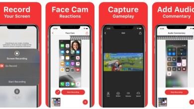 Photo of تطبيق Go Record لتسجيل الشاشة مع فيديو بالكاميرا الأمامية