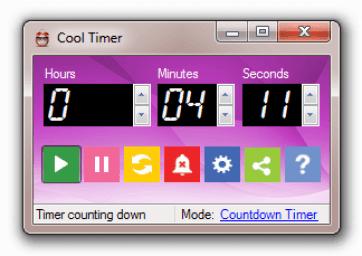 برنامج مؤقت زمني للكمبيوتر - برنامج مؤقت زمني للكمبيوتر Cool Timer لإدارة الوقت باحترافية