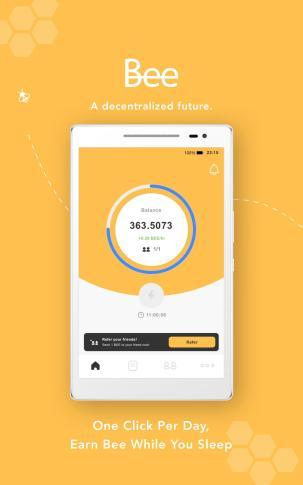 screen 8 640x1024 - تطبيق Bee.com - شرح تعدين والربح من العملة الرقمية الجديدة