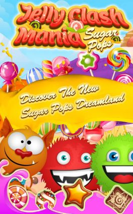Jelly Clash Mania Candy Crush 1