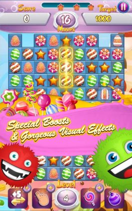 Jelly Clash Mania Candy Crush 4