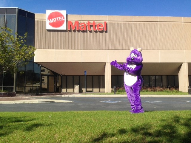 Purple Squirrel at Mattel