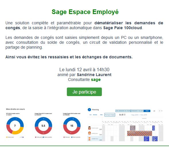 Sage Espace Employé