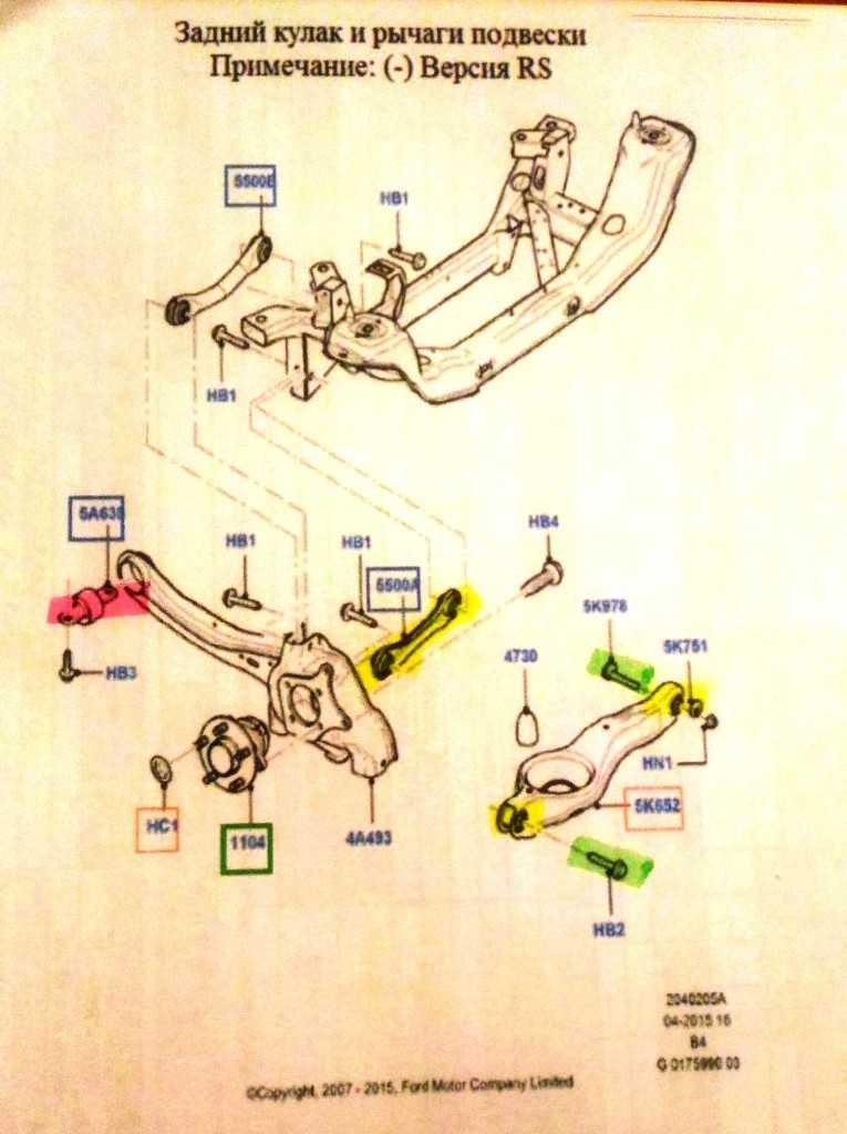 Рекомендации по задней подвеске