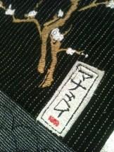 Jeg har laget mitt eget navnetag i skinn som er en signatur på det jeg lager