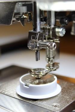 CystalWork-verktøyet monteres på maskinen