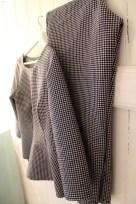 Bluse med volang og sigarettbukse med strikk i livet!!
