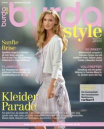 Mange flotte sommermodeller i dette Burda-bladet 4/2015