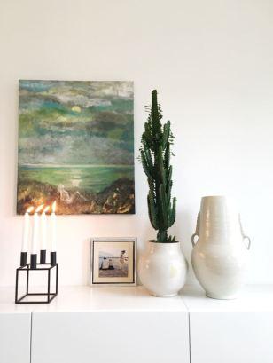 Et flott stilleben i et moderne hjem