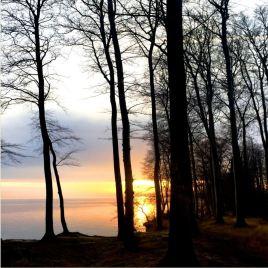 Nydelig soloppgang og løfte om en deilig dag