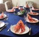 Hva kan være bedre enn å komme hjem til dekket bord og mors hjemmelagede mat etter en lang dag på messe?