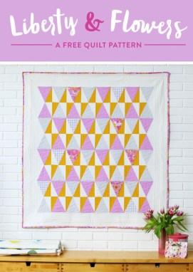 Så langt så godt - ble nødt til kikke litt ekstra på SuzyQuilts mønster for nå skal det quiltes!