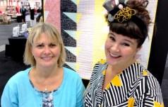 Det er alltid hyggelig å møtes med Anita et par ganger i året - her er vi sammen på Syfestivalen