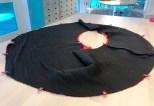 Om du vil lage en volang eller peplumkant på dine plagg så skal du være oppmerksom på at det går ganske mye ekstra stoff til dette