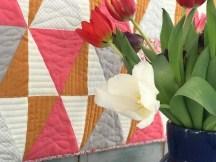 Så gøy å kunne vise frem Liberty & Flowers quilten for første gang.