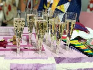 Noen ganger skal man unne seg et glass med bobler i godt selskap