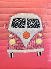 Tula Pink Coastal Cruiser Pillow