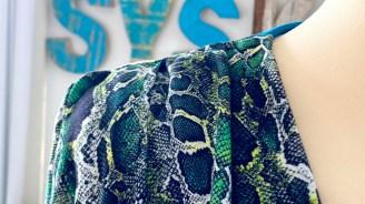 Mønster med en god porsjon realisme - er du redd for slanger så velg noe du er bekvem med...