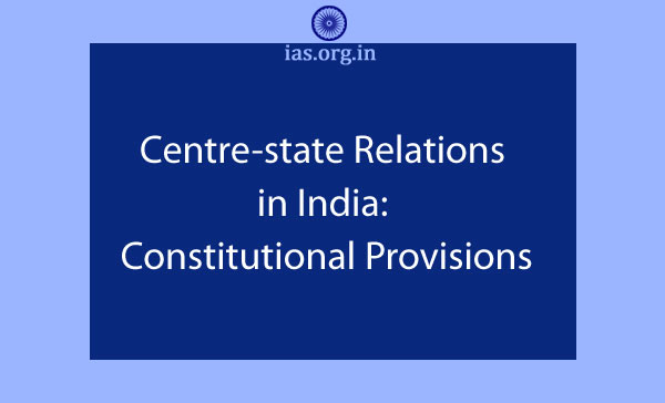 Centre State Relation