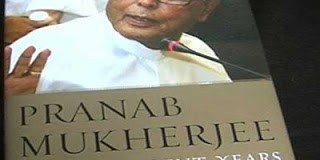 turbulent years pranab mukherjee