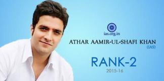 Athar Aamir-ul-Shafi Khan