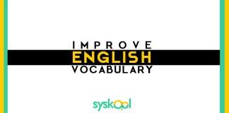 Improve english vocabulary