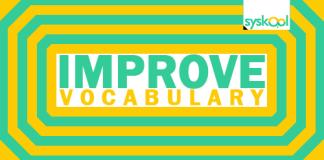 improve vocabulary