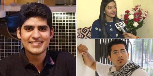 UPSC Toppers 2019 Kanishak karatira junaid ahmad srushti