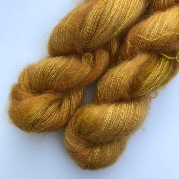 Sysleriget Silk Mohair Curry