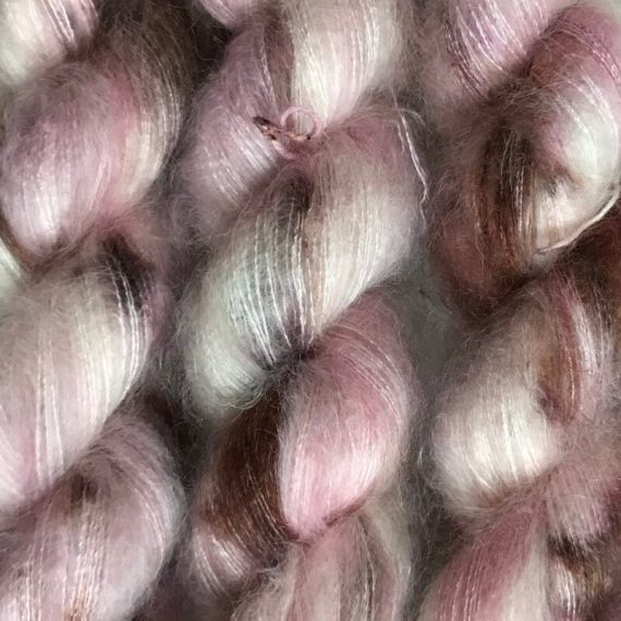 Sysleriget Silk Mohair Cherry Blossom