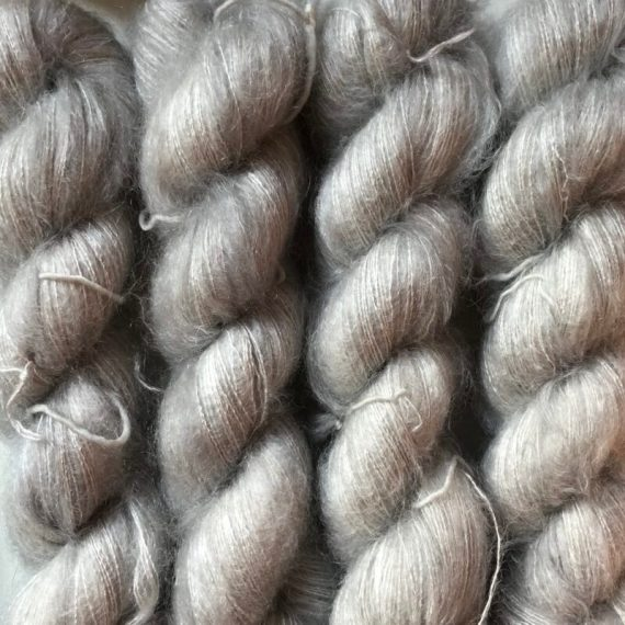 Sysleriget Silk Mohair Silver Edition