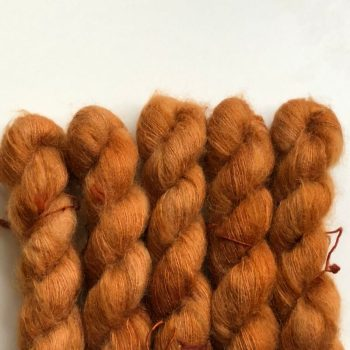 Sysleriget Silk Mohair Rusty