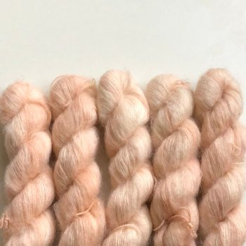 Sysleriget Silk Mohair Pale Sand Rose