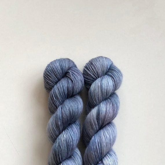 Sysleriget Merino Mohair Jeansblue