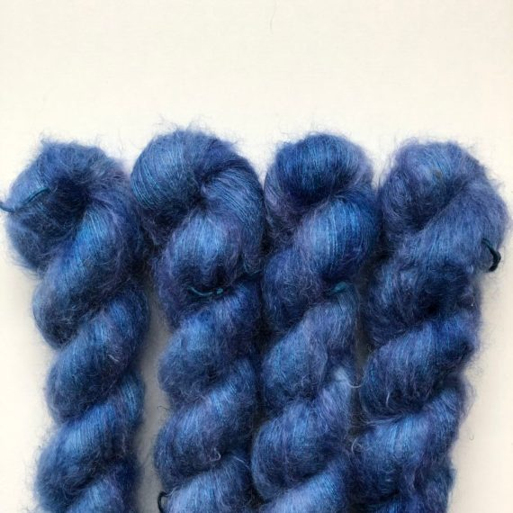 Sysleriget Silk Mohair American Blue